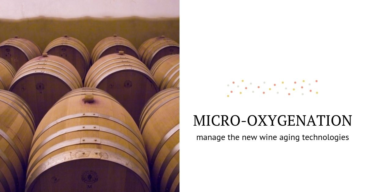 Active and passive micro-oxygenation of wines