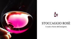 Evoluzione dei gas disciolti e della SO2 durante lo stoccaggio di un vino rosato da Cinsault in PET e in vetro