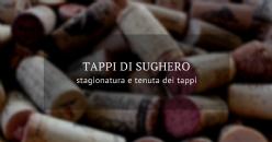 POSTER: Effetti della stagionatura del sughero sulla tenuta dei tappi monopezzo: aspetti compositivi e sensoriali dei vini