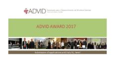 Prémio ADVID 2017 | Candidaturas abertas