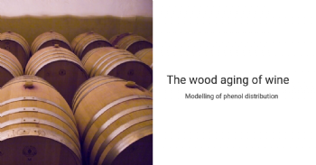 Modelling of phenol distribution and oxygen permeation of oak casks