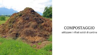 Directrices para el compostaje utilizando residuos sólidos de bodega