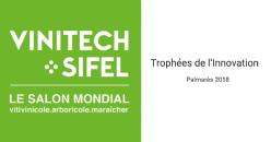 Anunciados los ganadores de los Trofeos de la Innovación Vinitech-Sifel 2018