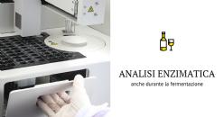 L'analisi enzimatica in vinificazione