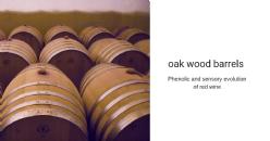 Evoluzione fenolica e sensoriale di un vino ottenuto da uve Jean affinato in diverse tipologie di legno