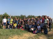 Harvest experience for secondary school students
