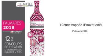 Palmarès du Trophée Oenovation, concours d'innovation vitivinicole