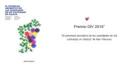"""Novedad editorial: """"El potencial aromático de las variedades de vid cultivadas en Galicia"""""""