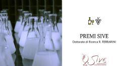 3a edizione Premi SIVE - Dottorato di Ricerca R. FERRARINI