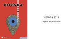VITENDA 2019 L'Agenda del vitivinicultore