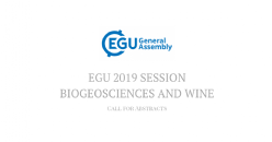EGU 2019 Session - Biogeosciences and wine: Call for Abstracts