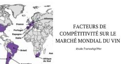 Facteurs de compétitivité sur le marché mondial du vin