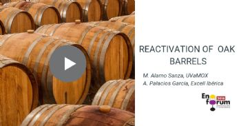 Reactivation of basic functionalities of oak barrels through regeneration
