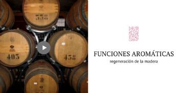 Reactivación de las funciones aromáticas mediante regeneración de la madera