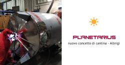 Planetarius, il nuovo concetto di cantina