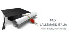 """Premio di studio per tesi di laurea """"Prix Lallemand Italia"""""""
