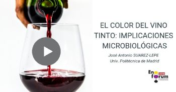 The visual appeal of the color of red wine: microbiological implications