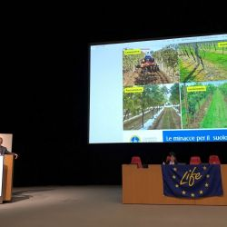 Présentation des résultats préliminaires du projet Soil4Wine LIFE+ à ENOFORUM 2019