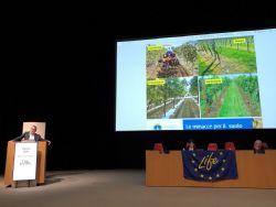 Prof. Stefano Poni (Università Cattolica del Sacro Cuore di Piacenza presenta i risultati del progetto Soil4Wine LIFE+