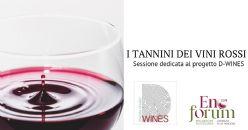La diversità dei tannini dei vini rossi italiani