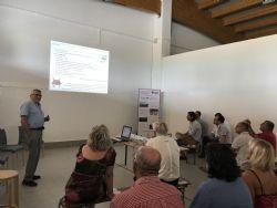 Prof. Stefano Poni introduce il Progetto
