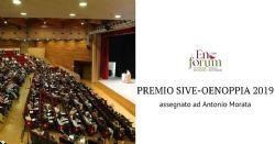 Premio SIVE-OENOPPIA 2019 a Antonio Morata
