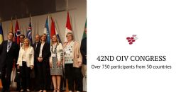 42nd OIV Congress: the third in Switzerland is a huge success