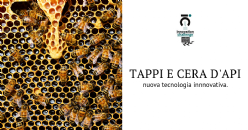 Tappo di sughero con emulsione di cera d'api