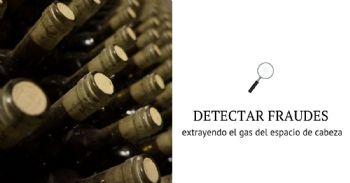 Detectar fraudes enológicos sin descorchar la botella