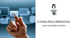 Interfaccia operatore e-panel per pressa