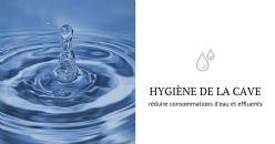 Optimisation de l'utilisation de l'eau au chai et  nettoyabilité des équipements
