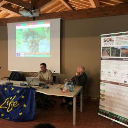 Ponencia de Guido Croce (ART-ER) y Gabriele Canali (Università Cattolica del Sacro Cuore di Piacenza) sobre el valor de servicio ecosistémico