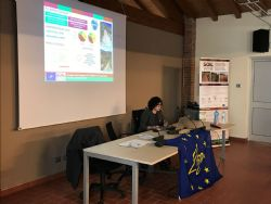 Irene Diti presents the demo activities carried out during the Project