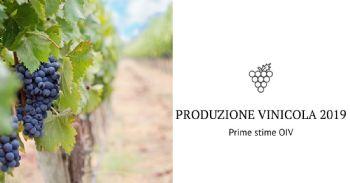 OIV: Prime stime sulla produzione vinicola mondiale del 2019