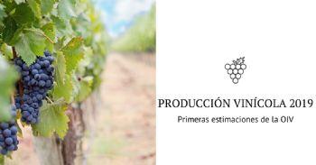 OIV: primeras estimaciones sobre la producción de vino de 2019