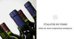 Como reduzir os níveis de ftalatos no vinho