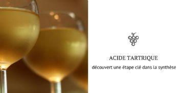 Nouvelles avancées dans la connaissance du métabolisme de l'acide tartrique