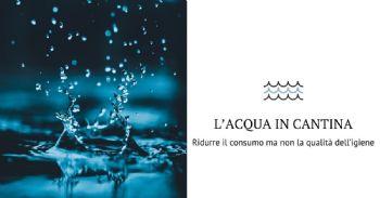 Ottimizzazione dell'utilizzo dell'acqua in cantina e attitudine alla pulizia delle attrezzature