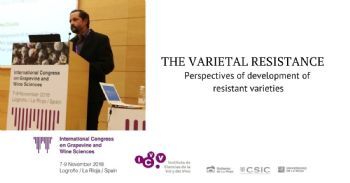 The varietal resistance as a sustainable solution for quality wines.  The French approach