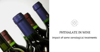 How to reduce phthalate levels in wine