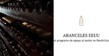 El programa de apoyo al sector del vino se flexibiliza para contrarrestar el impacto de los aranceles adicionales impuestos por EE.UU.