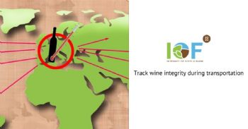 How to track the wine integrity during transportation