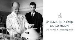3ª Edizione Premio CARLO MICONI per una Tesi di Laurea Magistrale