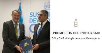 La OIV y la OMT juntos para la promoción del enoturismo