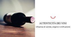 Applicazione di tannini non convenzionali come marker di autenticità