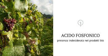 Crea: Perché residui dell'acido fosfonico nel vino biologico?