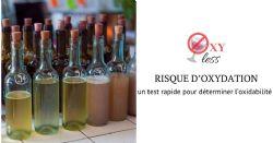 Résultats préliminaires du projet Oxyless et potentiel de la voltammètrie pour prédire l'oxydabilité des vins