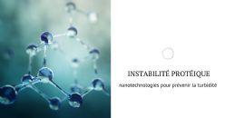 Utilisation des nanotechnologies pour éviter l'instabilité des protéines dans le vin