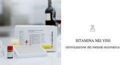 Metodo enzimatico per il dosaggio dell'istamina nei vini