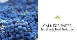 "Call for Paper: [Fermentation] Special issue ""Microbial Technologies for Sustainable Food Production"""